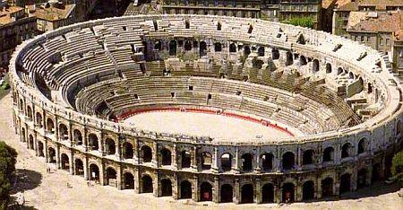 Amphitheatre Nimes