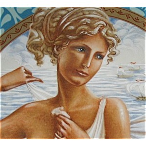 Aphrodite the greek goddess of love