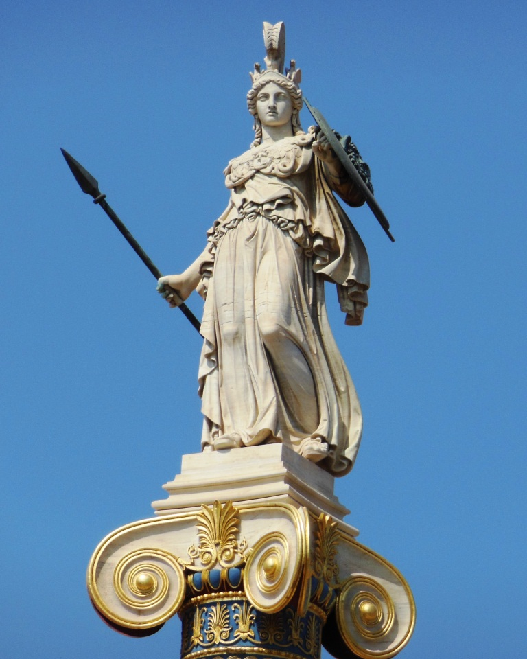 Athena-Greek-God