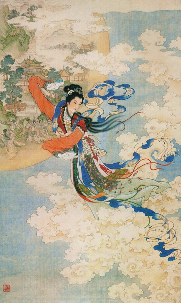 Chinese Goddess of the Moon - Chang-O
