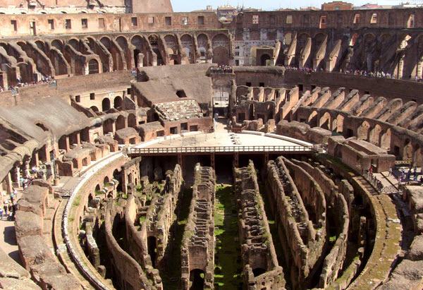 Colosseum was known as Flavian Amphitheater