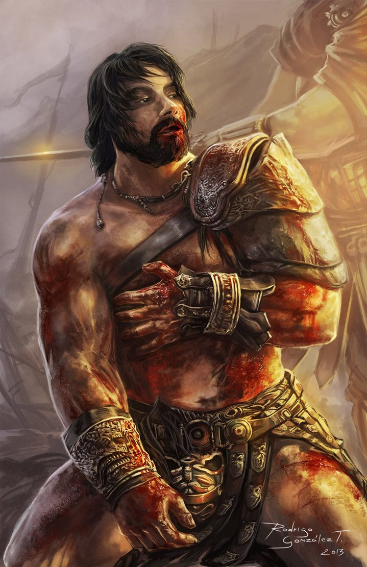 Crixus roman gladiator