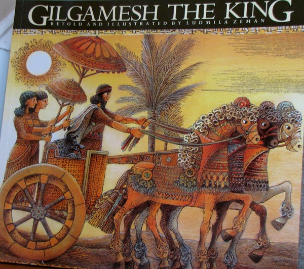 Gilgamesh the king of Sumerian city of Uruk