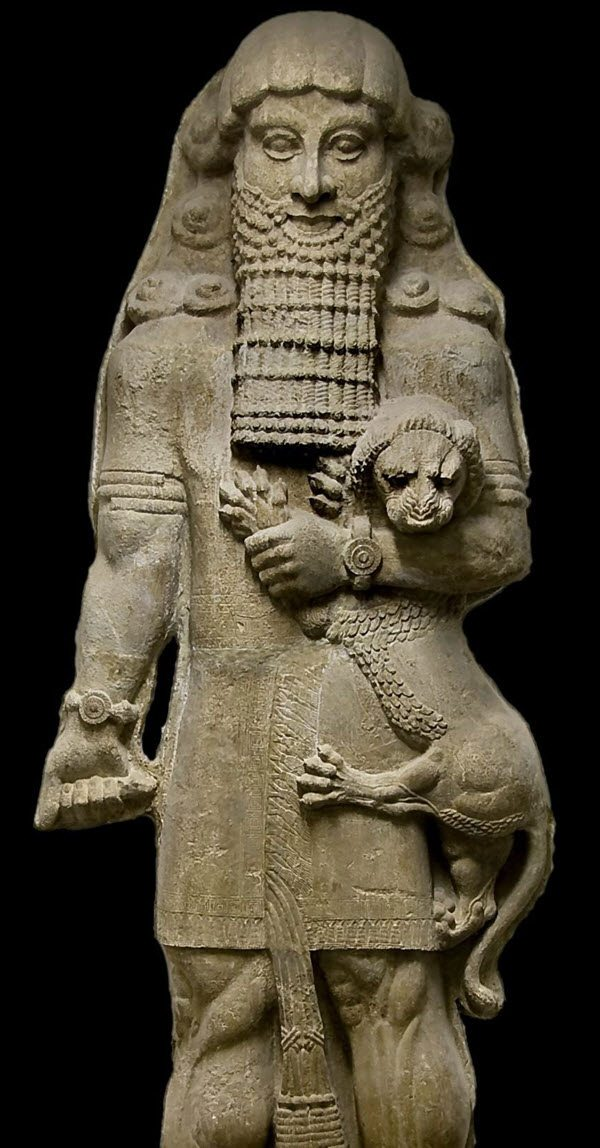 Gilgamesh two-thirds a god and one-third a man