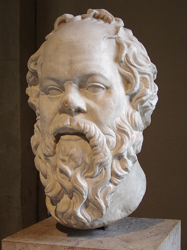 Greek Philosopher Socrates Louvre