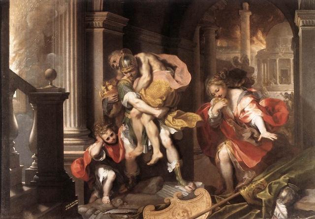 History of Aeneas roman mythology
