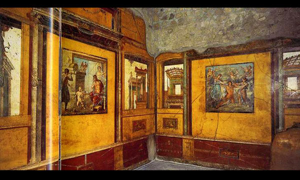 House of Vetti ancient roman arts