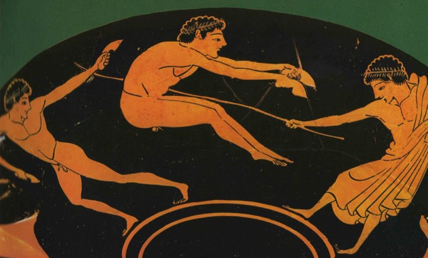 Jumping ancient Greece