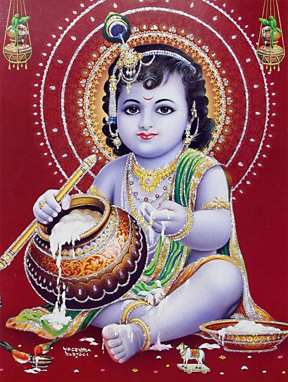 Krishna hindu god