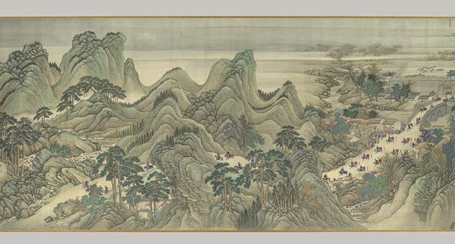 Landscape Paintings ancient china