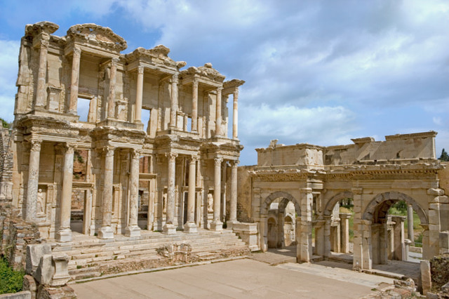 Library of Celsus Rome