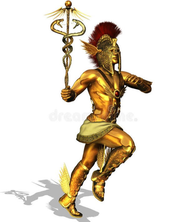 Mercury- The God of Financial Gain, Poetry, Eloquence