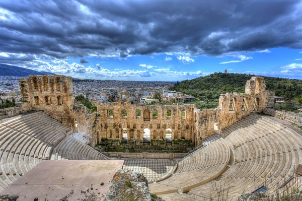 Odeon of Herodes Atticus, Acropolis