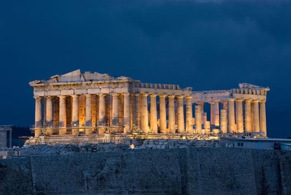 Parthenon, Acropolis ancient greek architecture