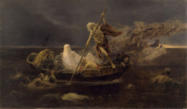 Pluto and the river Styx