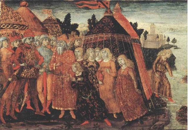 Roman mytho of woman Cloelia
