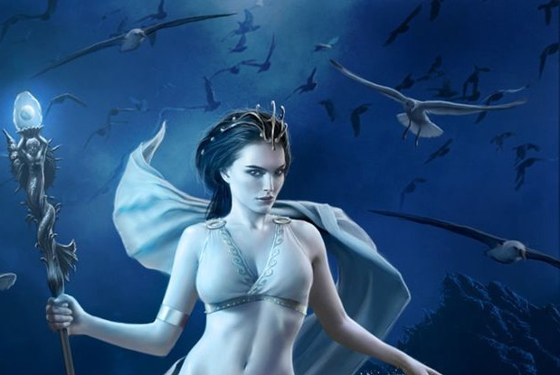 Salacia, The Goddess of Salt Water