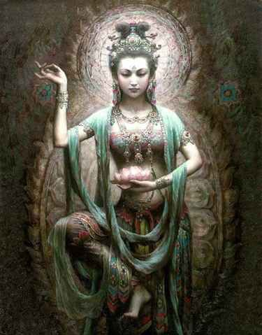 Shala- The Goddess of grain and Compassion
