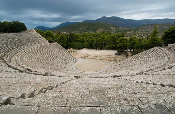 The Great Theatre of Epidaurus,Epidaurus