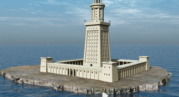 The Lighthouse at Alexandria, Egypt