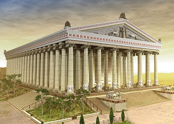 The Temple of Artemis at Ephesus, Greece