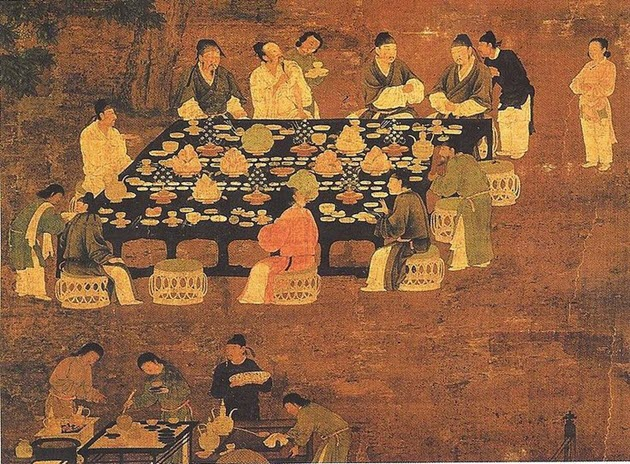 Vegetables of ancient china