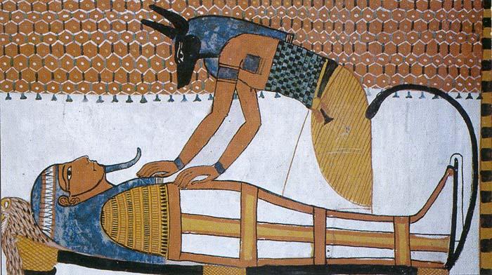 Mystères d'Osiris Anubis-peinture-3