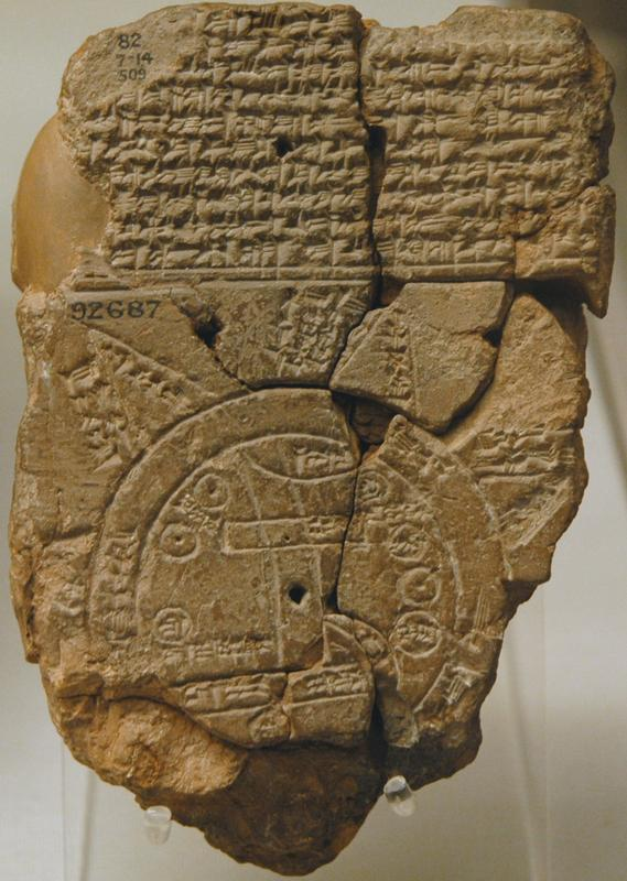 babylonian worldmap invention
