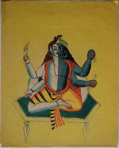 hari hara fused form of lord shiva and vishnu