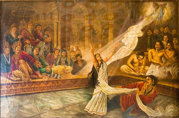 kali Yuga hindu myth
