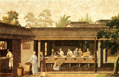 tea productin ancient china