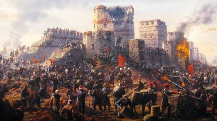 Déclin et chute de l'Empire romain 1453