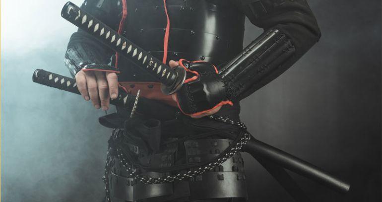 Les armes des samouraïs
