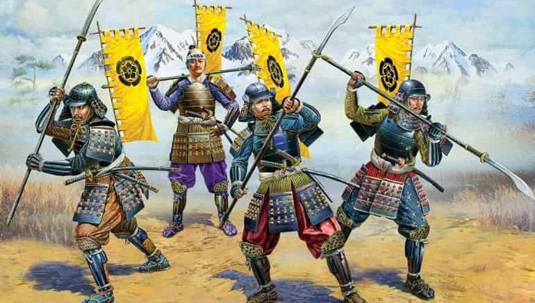histoire des samurai