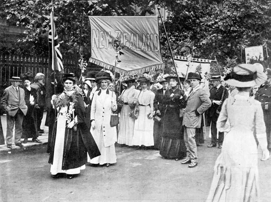 nouvelle zelande premier pays droit de vote des femmes