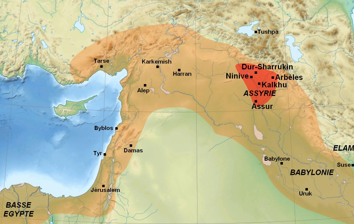 empire assyrien