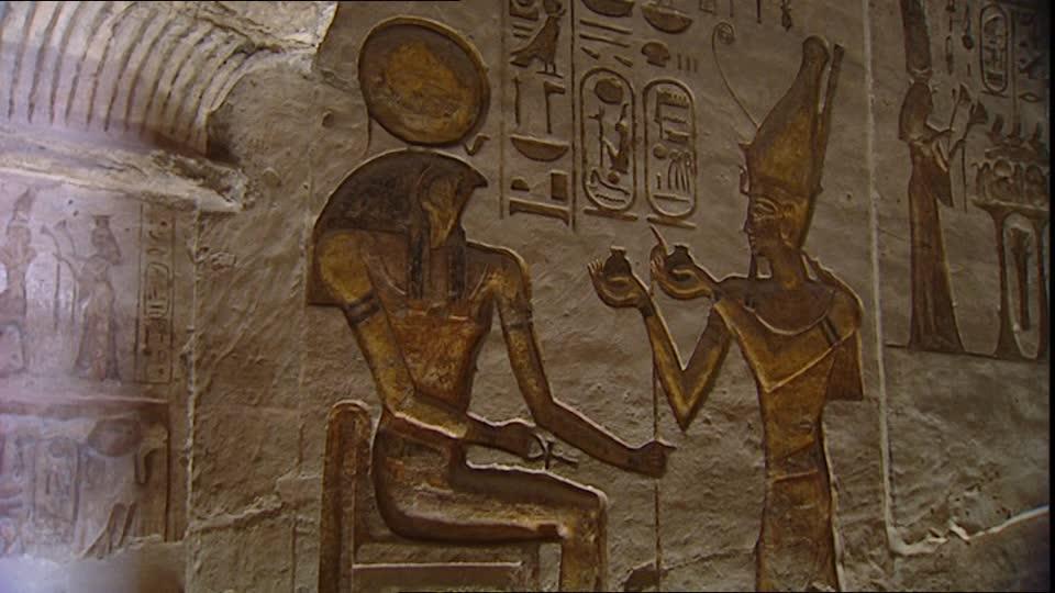 ra dieu du soleil hieroglyph