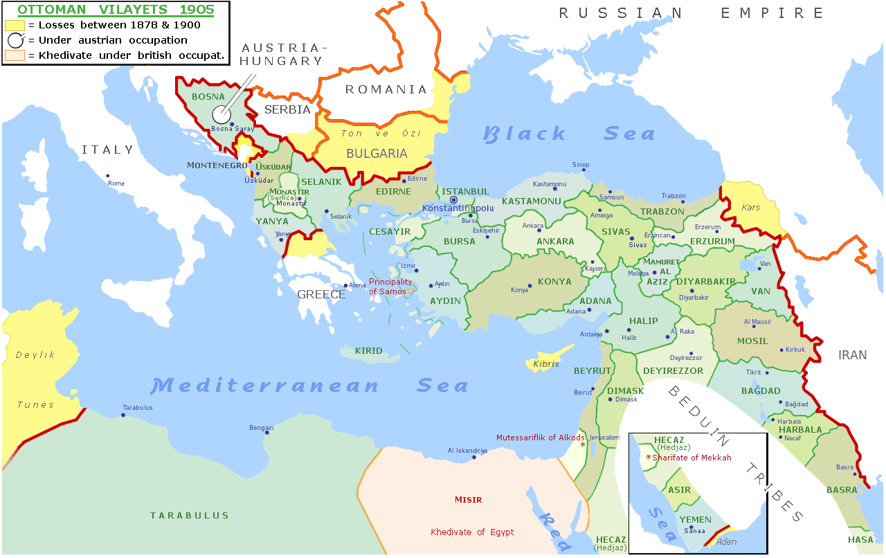 declin de l'empire ottoman