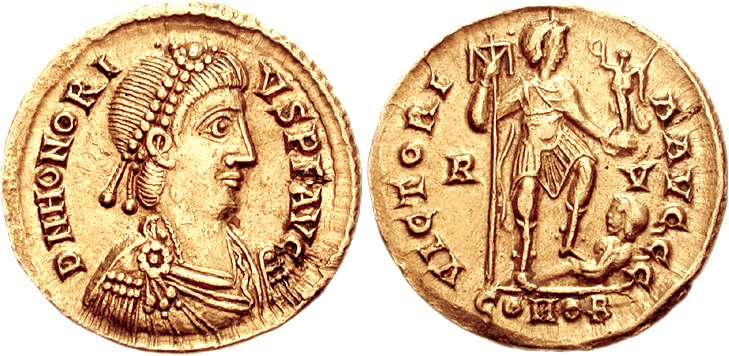 Honorius empereur
