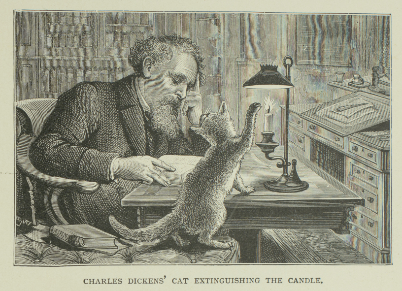 Charles Dickens chats