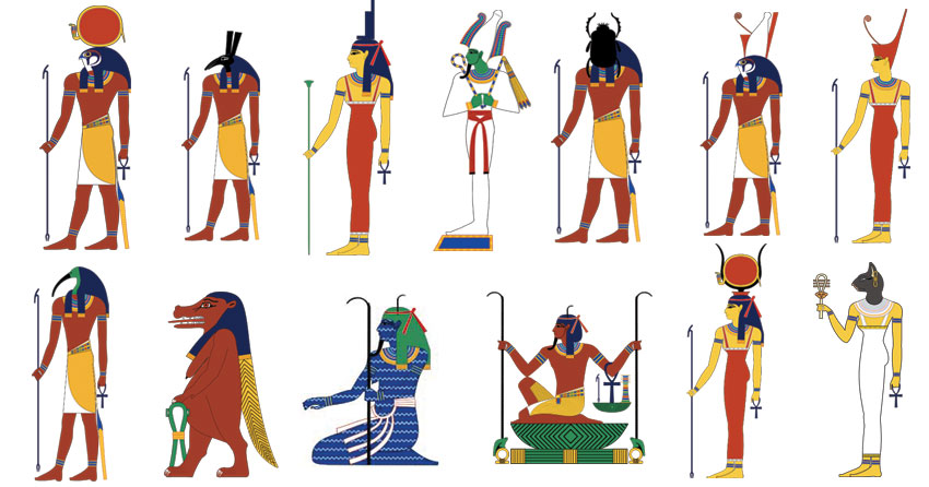Résultats de recherche d'images pour «egyptian gods»