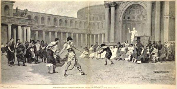 femme gladiateur