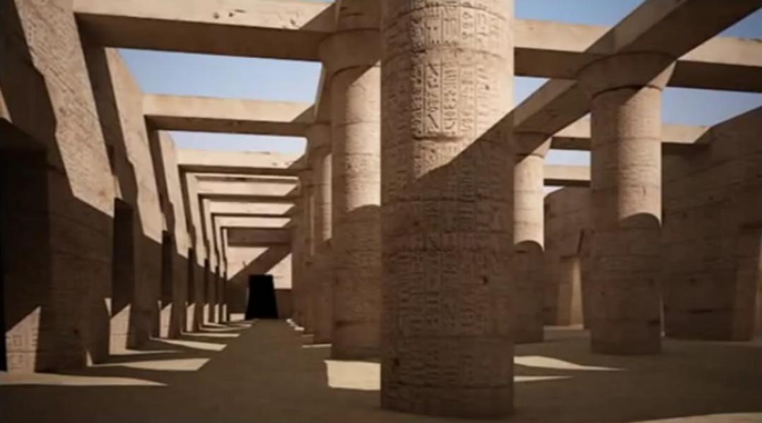 Labyrinthe perdu de l'Egypte Ancienne