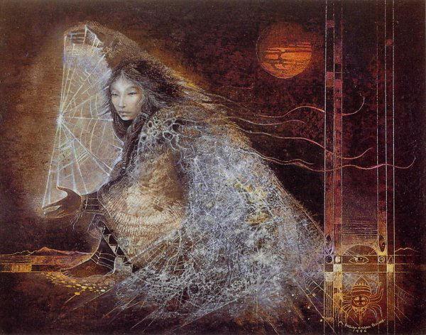 Femme araignée navajo