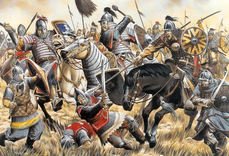 Mongols / Gengis Khan | Guerrieri, Giubbe rosse, Guerre napoleoniche