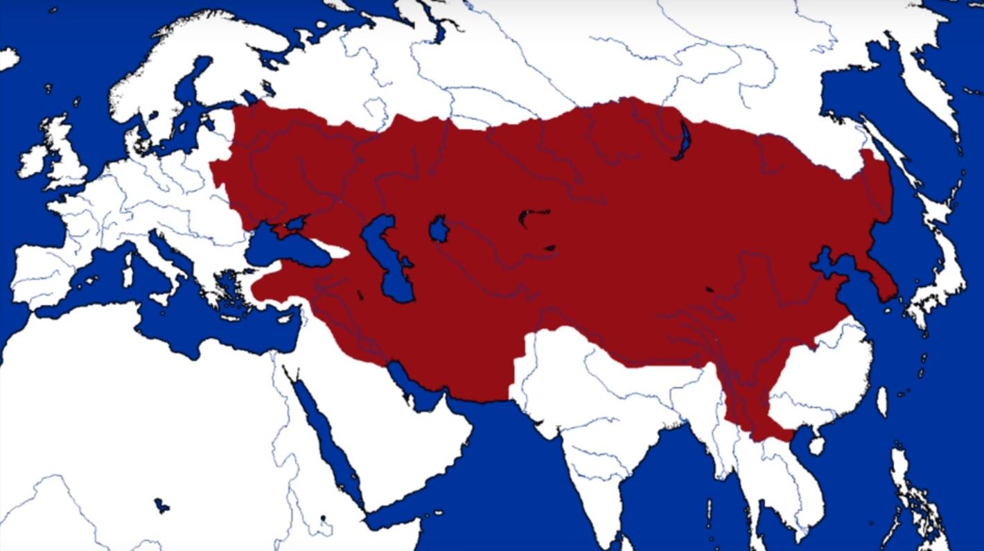 L'empire mongol sous Gengis Khan